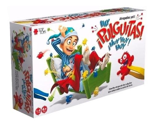 Imagen 1 de 3 de Juego de mesa Hay ¡Pulguitas! ¡Huy, huy, huy! Top Toys