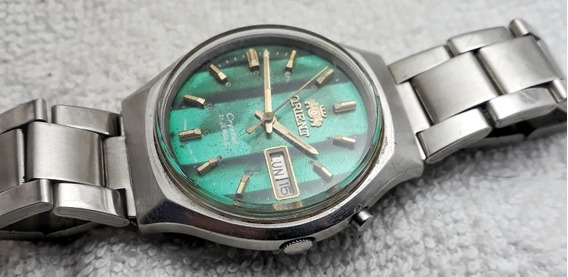 Relógio Orient Automático Verde