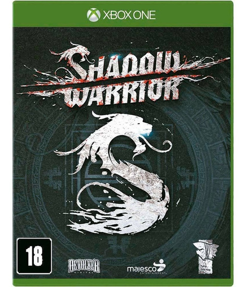 Shadow Warrior Lacrado! Loja Física! Sem Juros!