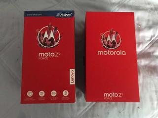 Moto Z2 Force Con Proyector, Bocina Jbl, Pila Adicional Y Sd