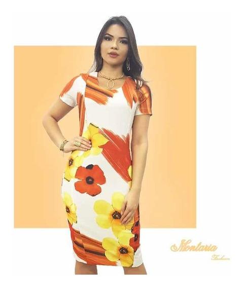 Vestido Tubinho - Montaria Fashion