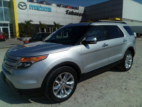 Ford Explorer Limited V6 4wd 2015 Seminuevos