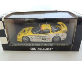 Action -corvette C5-r Gts 2000 - Le Mans 1/43 (ta -29)
