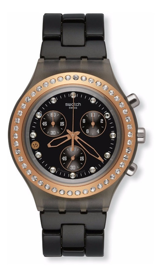 Relógio Swatch Full Blooded Stoneheart Svcm4008ag