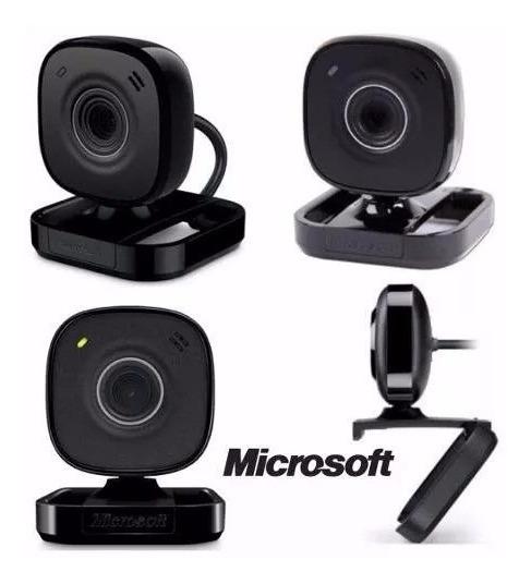 Camara Web Cam Microsoft Vx-800 Usb Laptop Pc Microfono Ccc