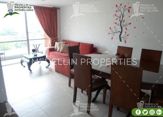 Arrendamientos De Apartamentos Baratos En Medellín Cód: 4541