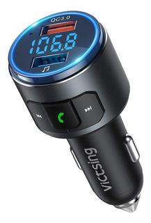 Victsing (version Actualizada) V5.0 Transmisor Fm Bluetooth