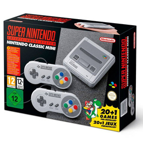 Game Super Nintendo Classic Mini 21jogos Hdmi + Nf-e