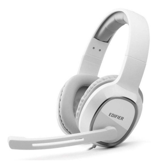 Fone De Ouvido Headset Gamer Para Pc K815 Branco Edifier