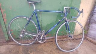 Bicicleta De Carrera Hispanofran Con Accesorios Shimano