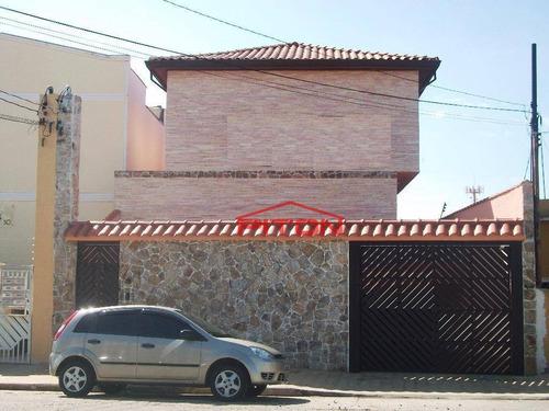 Sobrado Com 3 Dormitórios À Venda, 90 M² Por R$ 350.000,00 - Vila Ré - São Paulo/sp - So0425