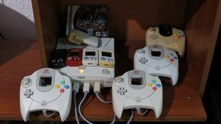 Consola Sega Dreamcast 4 Controles Juego Original