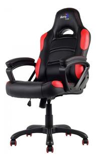 Cadeira Gamer Profissional Ac80c En55048 Preta Com Vermelho