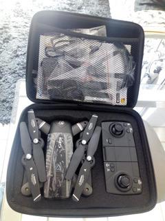 Drone Dsj S167 Gps+3 Baterias + Estuche + Lentes Realidad V.