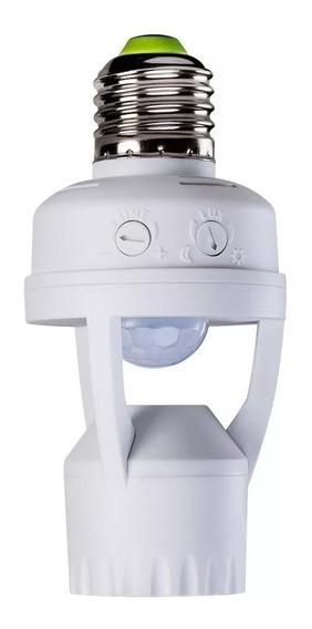 Sensor De Presença Intelbras Esp-360s E27 Fotocélula Branco