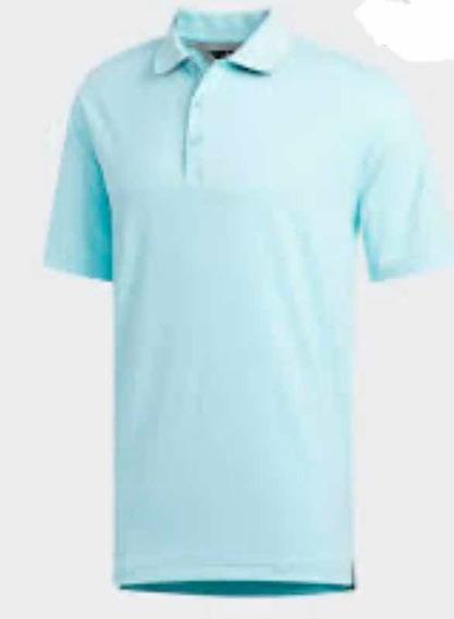Playera Polo adidas Adipure (talla L) 100% Original Hombre C