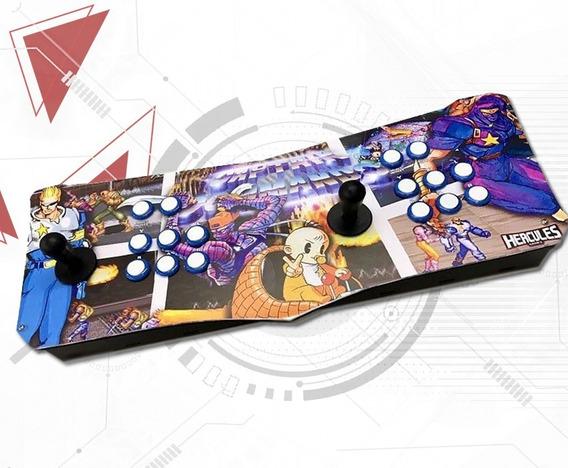 Fliperama Portátil 100% Digital Controle Arcade Hércules