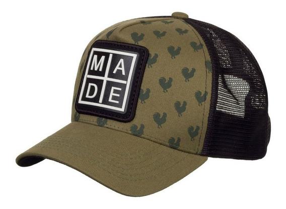Boné Made In Mato +2 Brindes Original Stripes B1633