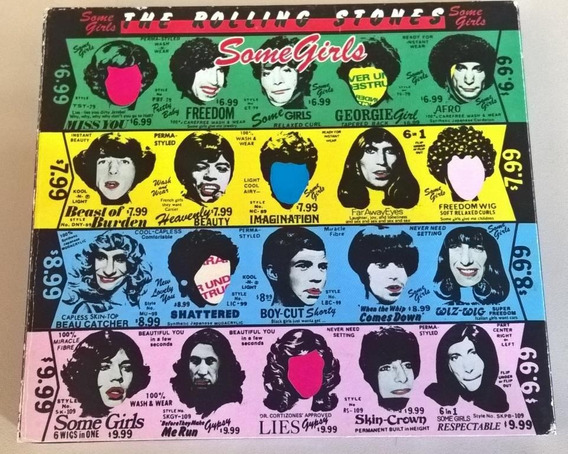 The Rolling Stones - Some Girls - Cd Duplo - Deluxe Edition