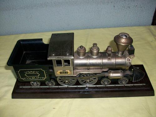 Tren Antiguo Gigante Decorar De Coleccion Jose Maria Cruxent
