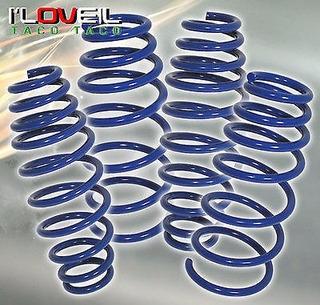 Espirales Suspension Vw Golf Y Jetta Mk4 00-06 Y Clasico
