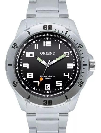 Relógio Orient Masculino Cromado Cód Mbss1155a P2sx Original