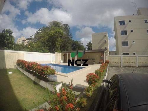 Apartamento Com 3 Dormitórios À Venda, 60 M² Por R$ 190.000,00 - Jardim Das Margaridas - Salvador/ba - Ap2877