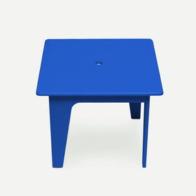 Mesinha Infantil Azul Escuro Laca Arco Design Caixotin