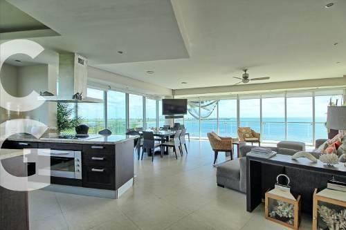 Departamento En Venta En Cancun En Residencial Peninsula 3 R