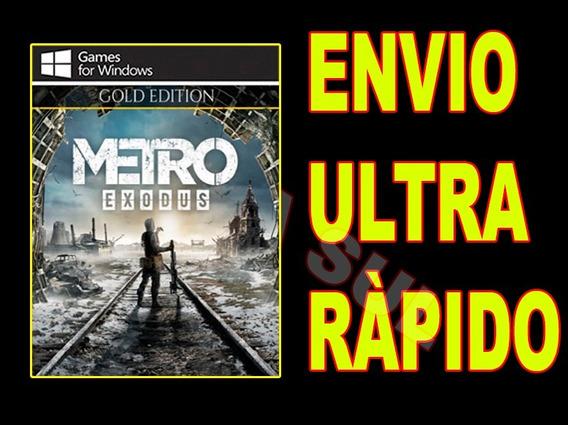 Metro Exodus Gold Edition - Jogo Para Computador