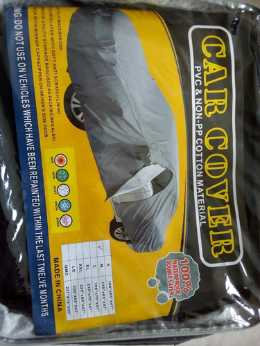 Cubreauto Impermeable Talle M