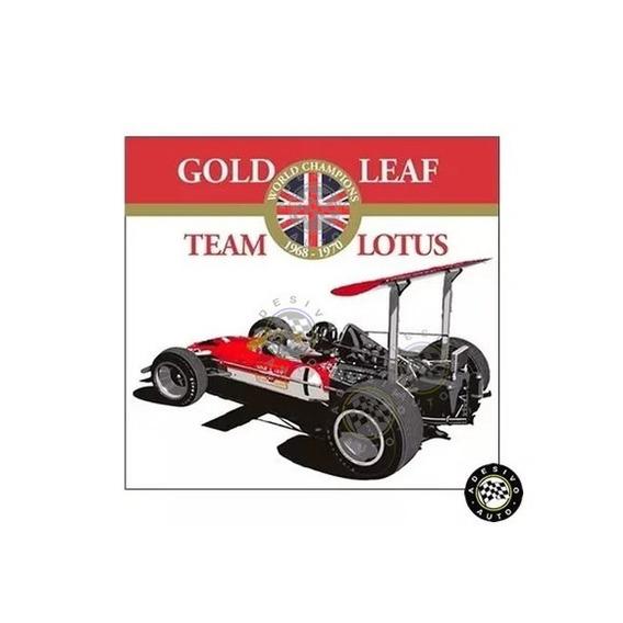 Adesivo Gold Leaf Team Lotus Graham Hill Lotus 49b F1