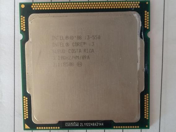 Processador Intel Core I3 - 550 3.20ghz 4mb Cachê Liga 1156