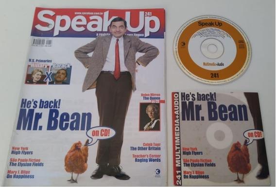 Revista Speak Up 241 Mr, Bean Excelente Par Estudar Inglês.