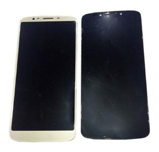 Pantalla Display+touch Motorola Motog6 Play Dorado + B-7000