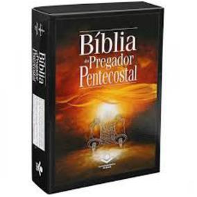 Bíblia Do Pregador Pentecostal / Arc / Vinho Nobre / Sbb