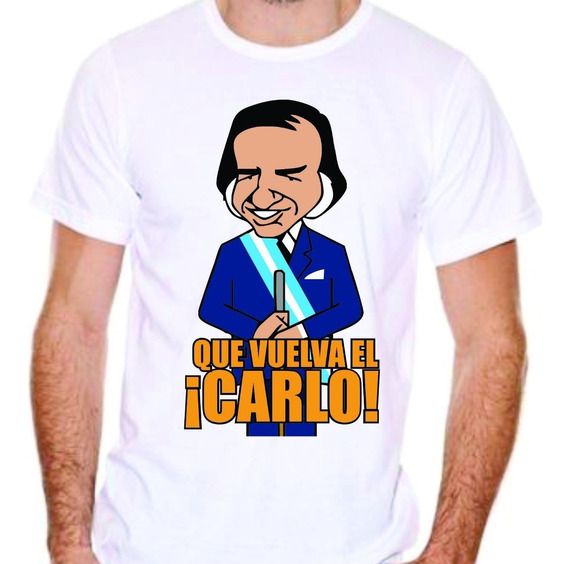 Remera Carlos Menem