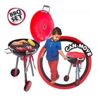 Juego De Parrillas Con Comidas Y Accesorios Barbecue