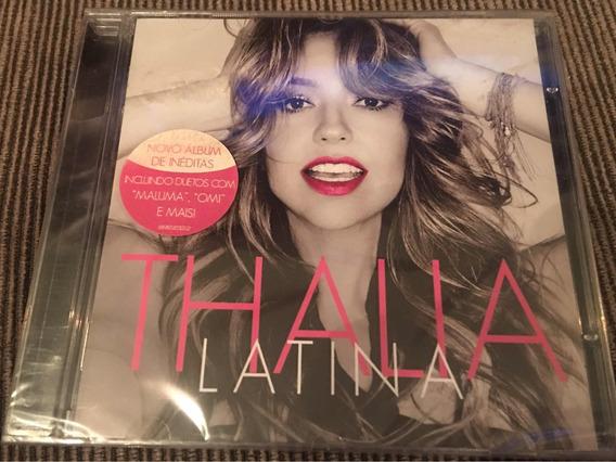 Cd Thalia Latina Original Lacrado Ref 929
