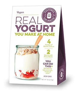 Cultures For Health Vegan Yogurt Starter Cultura, No Dairy,