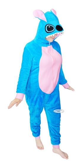 A 1 2 Stitch Pijama Mameluco Cosplay Peluche Traje Obsequio
