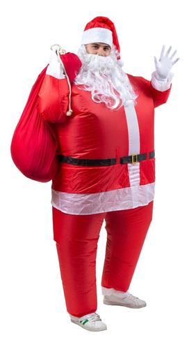 Disfraz De Santa Claus Disfraz Inflable