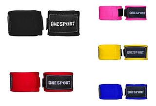 Conjunto 3 Bandagem Elastica Atadura 5m One Sport Promoção