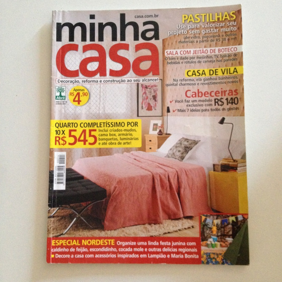 Revista Minha Casa N14 Jun2011 Casa De Vila / Pastilhas C2