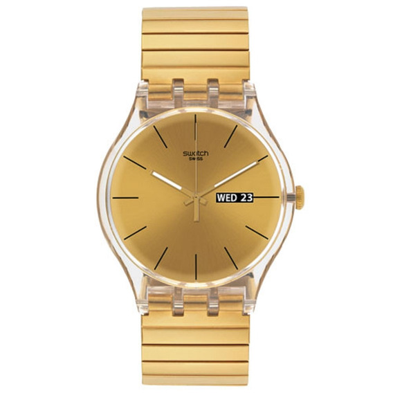 Relógio Swatch Dazzling Light Suok702a