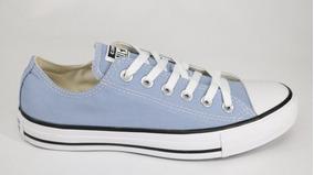 Tênis Converse All Star Azul - 37 - Azul/preto/branco
