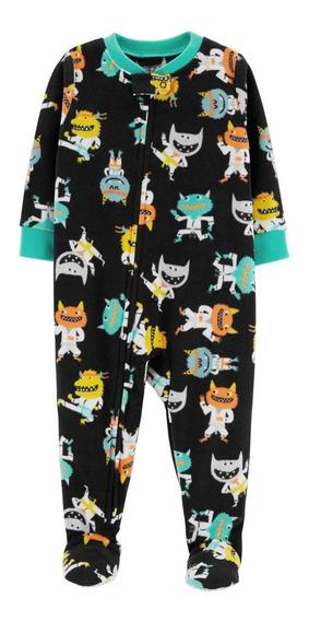 Carters Pijama Polar Bebé Nenes Mostruo