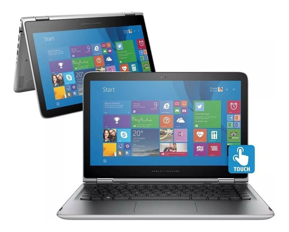 Notebook 2 Em 1 Touch Hp Pavilion X360 13-s104br Ssd 240gb