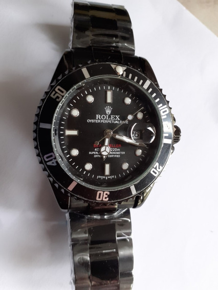 Relogio Submariner Masculino Black Edition 45mm
