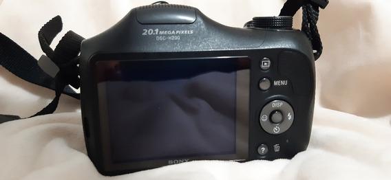 Câmera Sony Cyber Shot Dsc 20.1 Mp